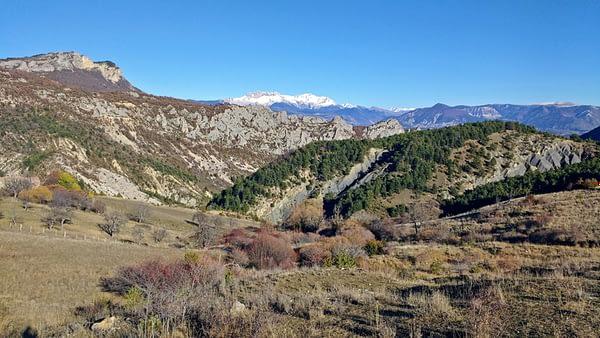 Haut de la vallée de Sigottier hiver