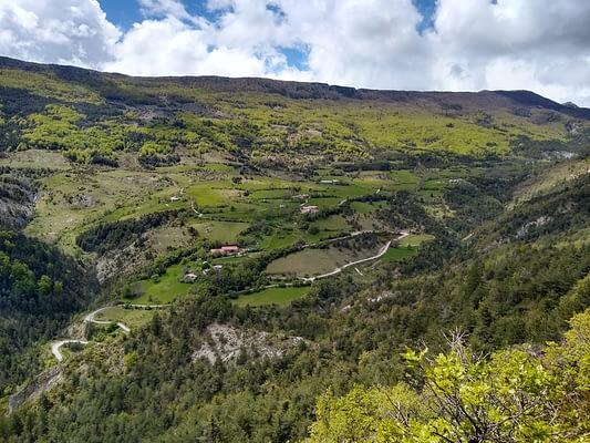 Vallée de Sigottier printemps