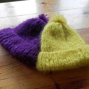 bonnets pur mohair